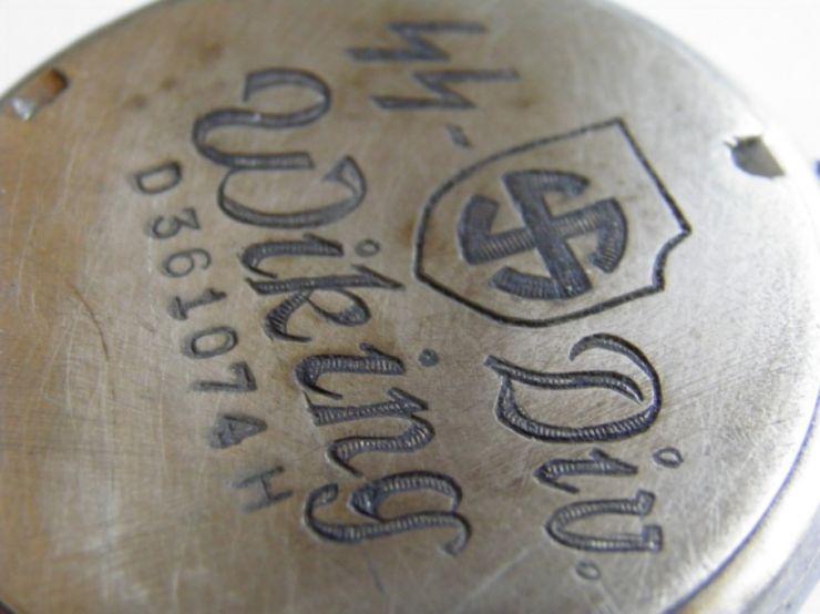 """Reloj """"Silvana"""" de la """"SS Panzer División Wiking"""""""